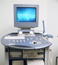 Έγχρωμος υπερηχοτομογράφος τύπου Voluson 730 PRO της G.E. υψηλής ευκρίνειας. Δυνατότητα εφαρμογών και τρισδιάστατης (υπολογιστικής) απεικόνισης (αρχείο ΕΥΓΟΝΙΑΣ).